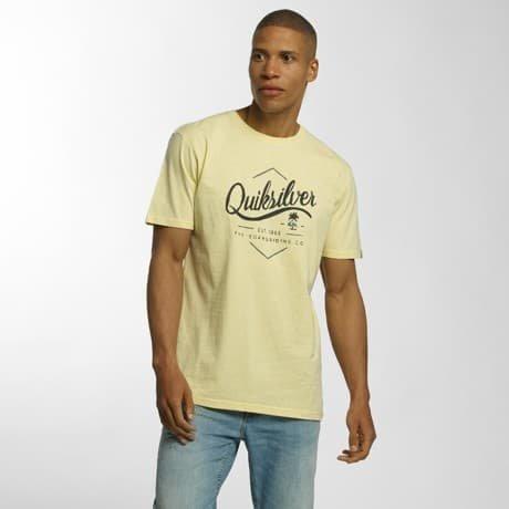 Quiksilver T-paita Keltainen