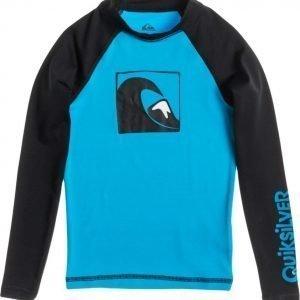 Quiksilver UV-paita Main Peak LS Turquoise