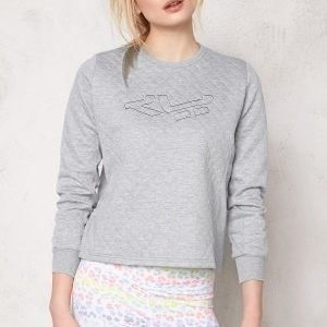 Röhnisch Anja Short Sweater Grey Melange