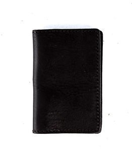 RAGE for Leather Ryan Wallet Black