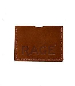 RAGE for Leather Simon Cardholder Light Brown