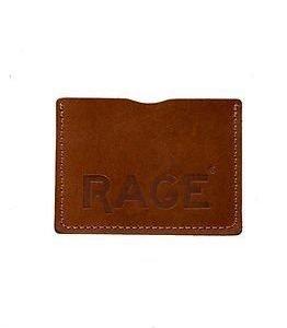 RAGE for Leather Simon Cardholder Light Brown
