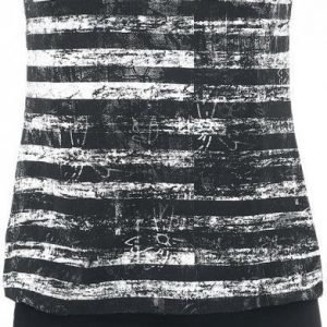 R.E.D. By Emp Black White Stripe Dress Mekko