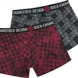 R.E.D. By Emp Boxer Shorts 2 Pack Bokserit
