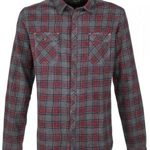R.E.D. By Emp Checked Oilwash Shirt Kauluspaita