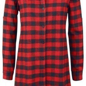 R.E.D. By Emp Checkered Oversize Shirt Naisten Pusero
