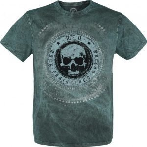 R.E.D. By Emp Circle Skull Shirt T-paita