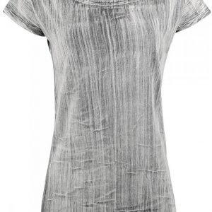 R.E.D. By Emp Crinkle Stripes Naisten T-paita
