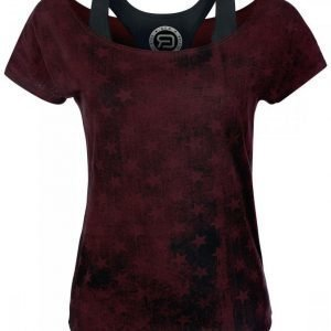 R.E.D. By Emp Double Layer Shirt Naisten T-paita