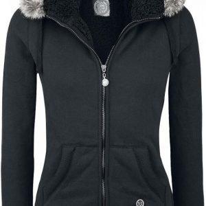 R.E.D. By Emp Faux Fur Hooded Jacket Naisten Vetoketjuhuppari