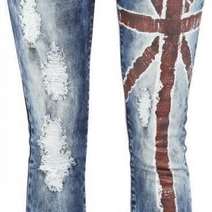 R.E.D. By Emp Flag Jeans Slim Fit Naisten Farkut