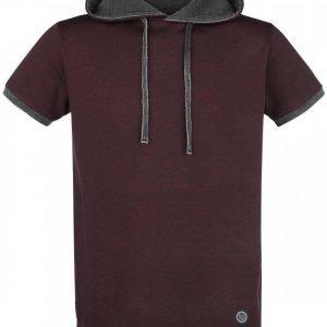 R.E.D. By Emp Hooded Layer Shirt T-paita