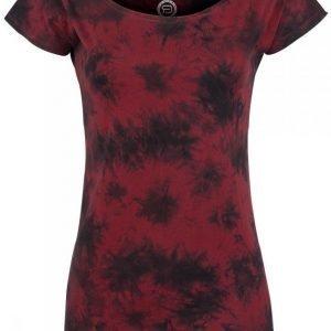 R.E.D. By Emp Ladies Acid Boatneck Shirt Naisten T-paita