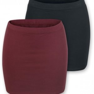 R.E.D. By Emp Ladies Skirts 2 Kpl Setti Lyhyt Hame