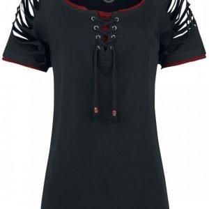 R.E.D. By Emp Replaceable Longsleeves Shirt Naisten T-paita