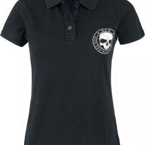 R.E.D. By Emp Skull Polo Shirt Naisten T-paita
