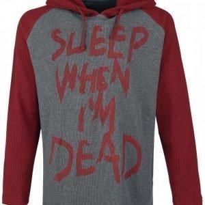 R.E.D. By Emp Sleep When I'm Dead Huppari