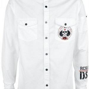 R.E.D. By Emp Spade Skull Shirt Kauluspaita