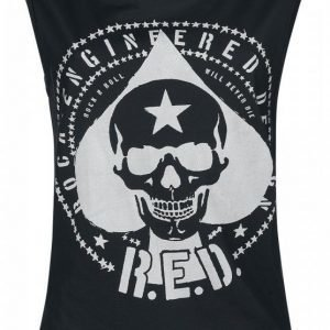 R.E.D. By Emp Spade Skull Top Naisten Toppi