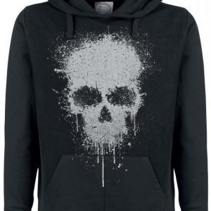 R.E.D. By Emp Splattered Skull Hoodie Huppari