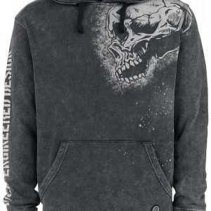 R.E.D. By Emp Sprinkled Side Skull Hoodie Huppari