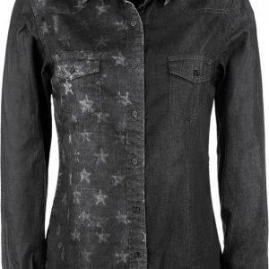 R.E.D. By Emp Star Jeans Shirt Naisten Pusero