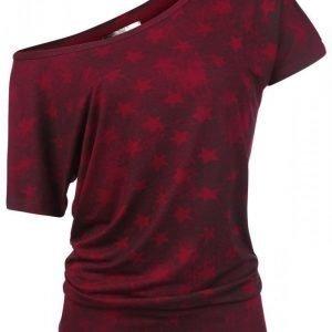 R.E.D. By Emp Star Shirt Naisten T-paita