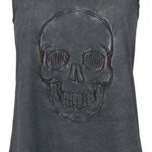 R.E.D. By Emp Stitched Skull Naisten Toppi