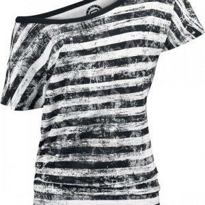R.E.D. By Emp Striped Ladies Shirt Naisten T-paita