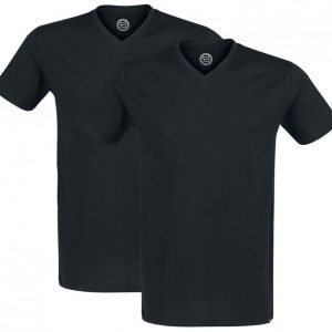R.E.D. By Emp V Neck Two Pack T-paita