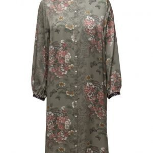 Rabens Saloner Garden Mix Long Shirt Dress mekko