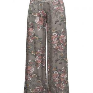 Rabens Saloner Garden Mix Wide Pants leveälahkeiset housut
