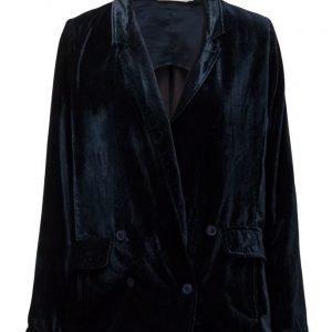 Rabens Saloner Velvet Jacket bleiseri