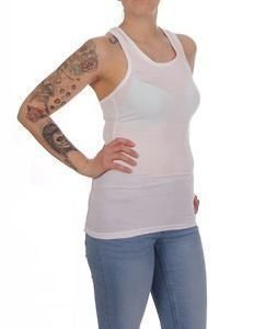 Racerback Top White