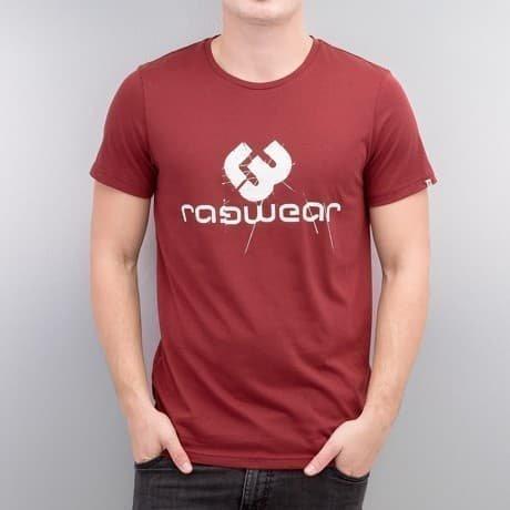 Ragwear T-paita Punainen