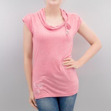 Ragwear T-paita Vaaleanpunainen