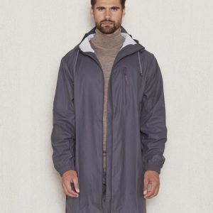 Rains Parka Coat Smoke
