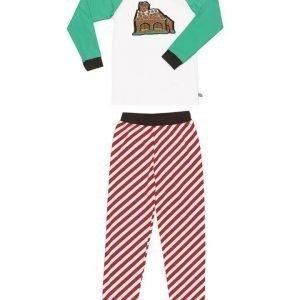 Ramasjang Kluns - Green Cotton pyjama