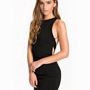 Rare London Open Back Trim Dress