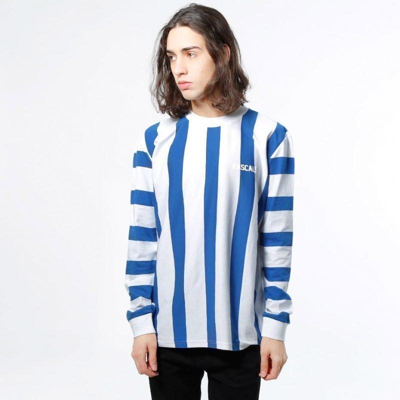 Rascals Striped High Neck -longsleeve