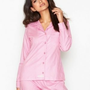 Rayville Debbie Pyjamas Pyjama Vaaleanpunakuviollinen