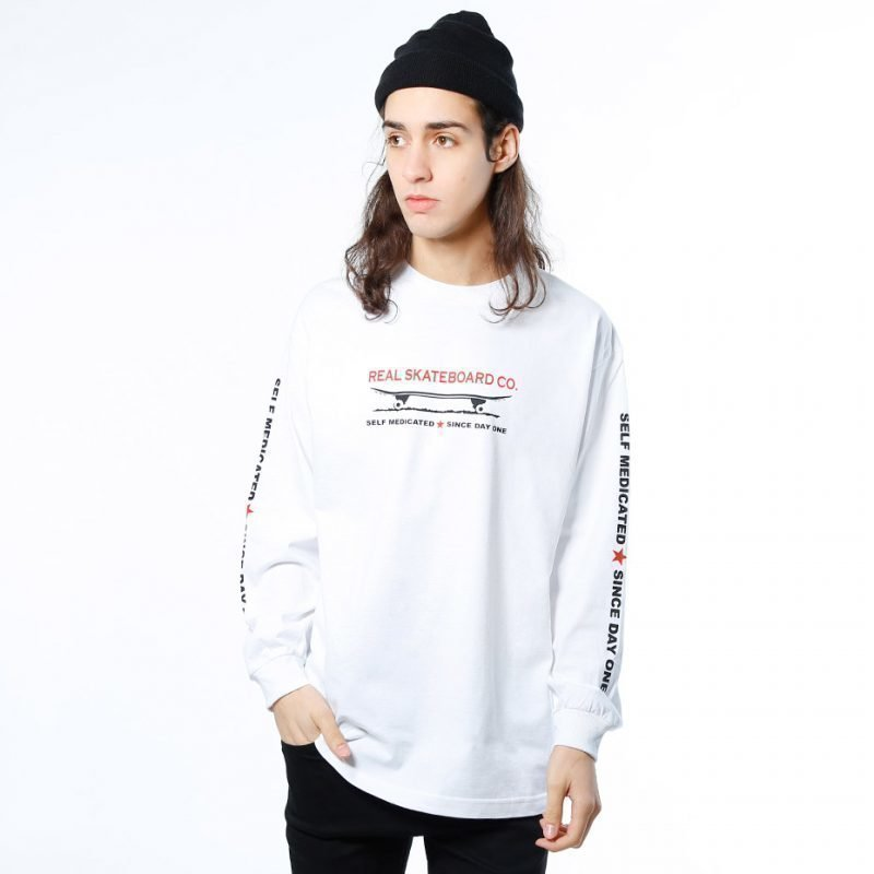 Real Self Medicated -longsleeve