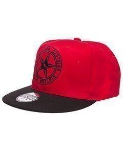 Red Logo Snapback