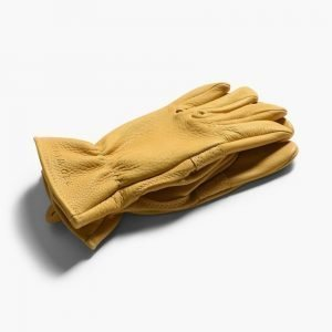 Red Wing Buckskin Unlined Leather Gloves