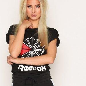 Reebok Classics F Gr Tee T-Paita Musta