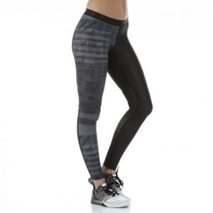 Reebok Crossfit Comp Tight Stripes Kompressiotrikoot Musta