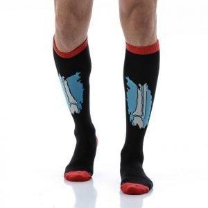 Reebok Crossfit Knee Sock Bone Sukat Musta