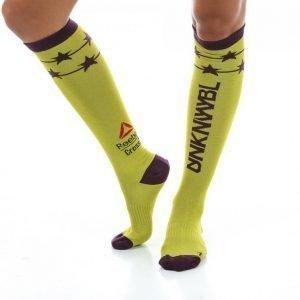Reebok Crossfit Knee Sock Sukat Keltainen