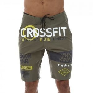 Reebok Crossfit Super Nasty Tactical Shortsit Vihreä / Musta