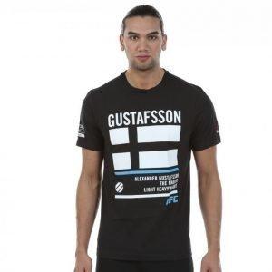 Reebok Gustafsson Tee Treenipaita Musta